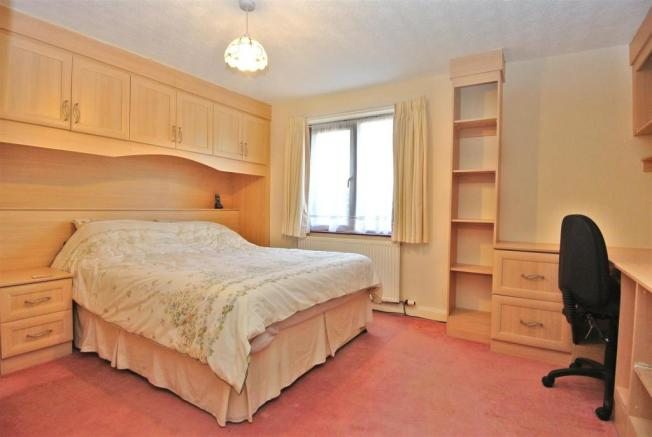 Master Bedroom with Fitted Furniture