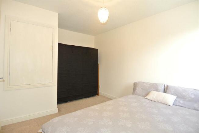 Generous double bedroom