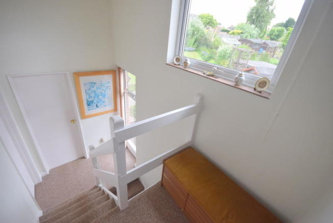 Stair Case With View