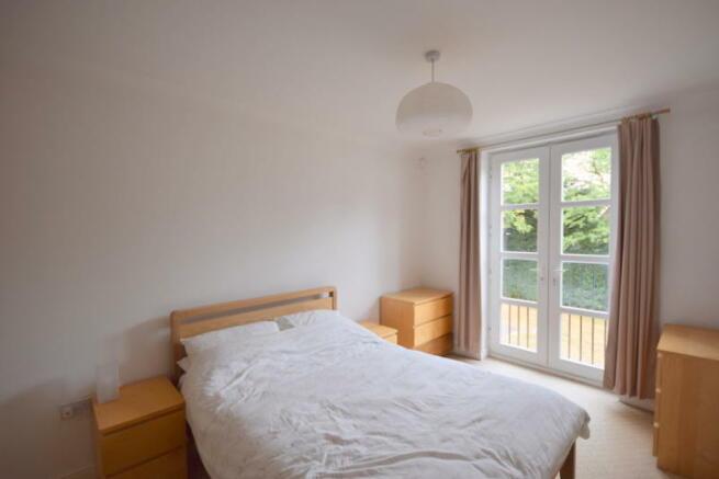Master Bedroom overlooking Communal Garden