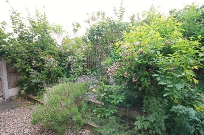 front garden ...