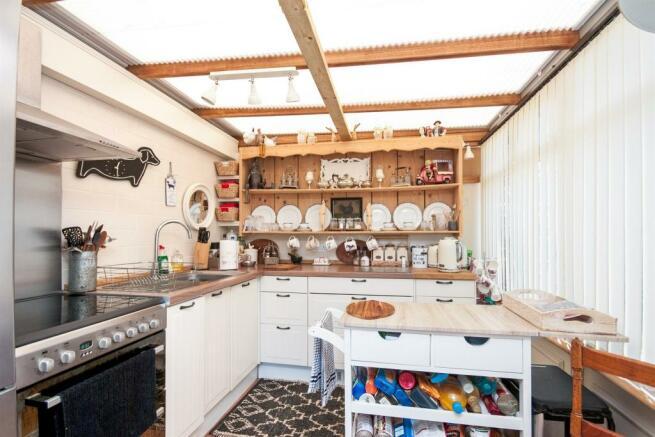 Conservatory/kitchenette