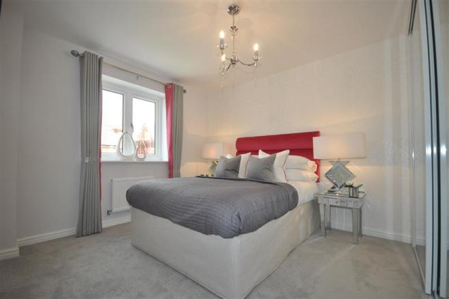 Bedroom 3 (show home example)