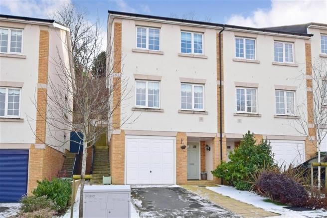 3 bedroom end of terrace house for sale in enbrook valley front elevation solutioingenieria Gallery