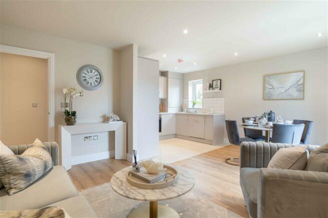 Living Area - Show Home