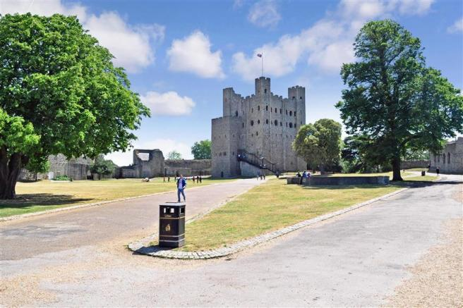 View Of Rochester Castle