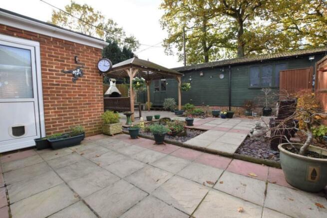 Main house garden