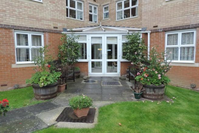 Rear of conservatory