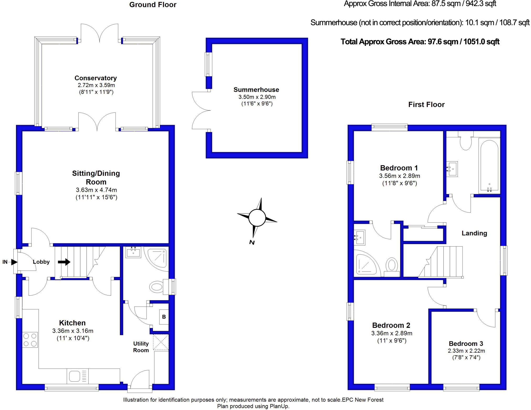 3 Bedroom Detached House For Sale In Walkford Bh23 Plan B Electrical Christchurch