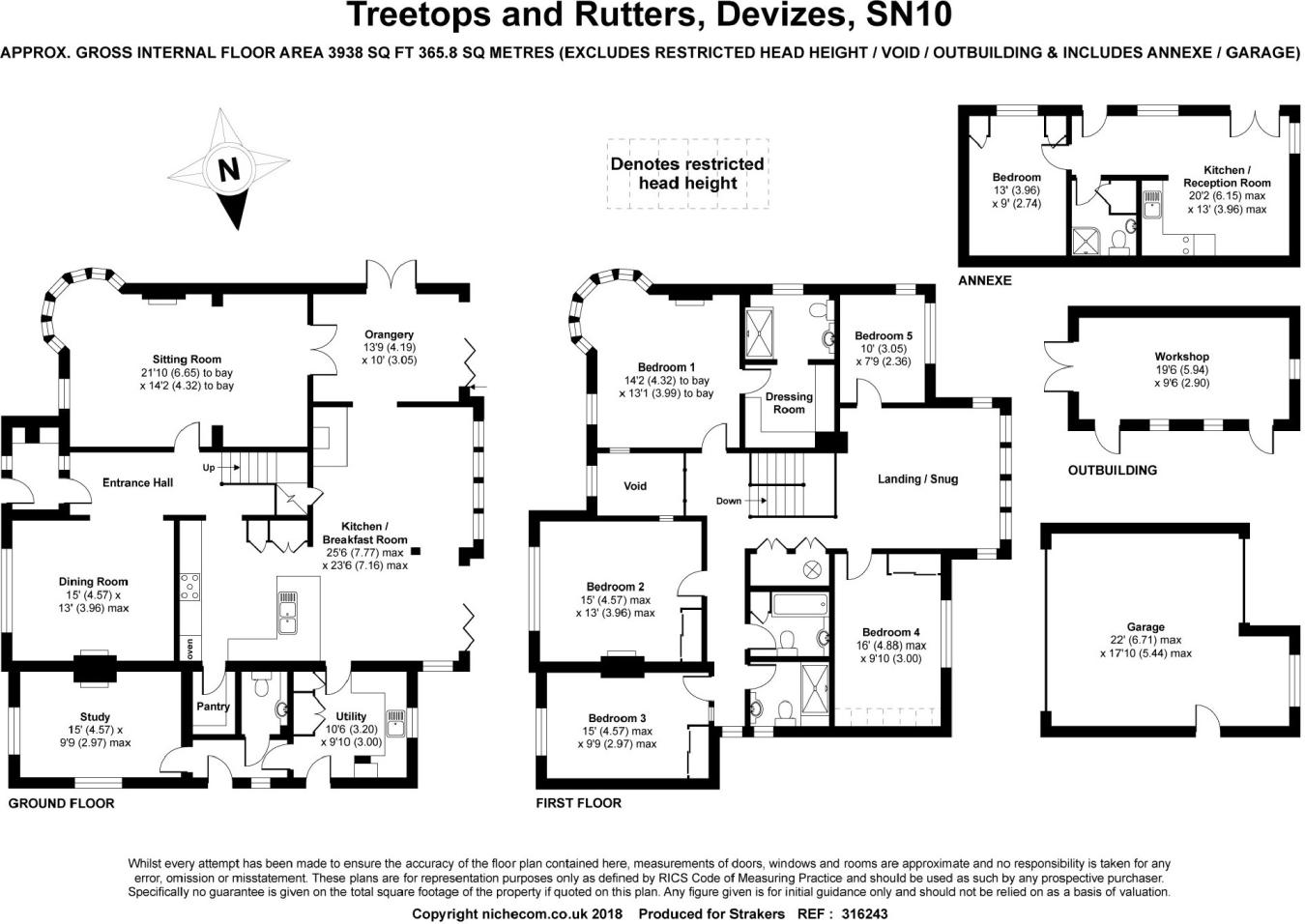 5 Bedroom House For Sale In The Fairway Devizes Wiltshire Sn10 Cost Of Rewiring A 2016 London