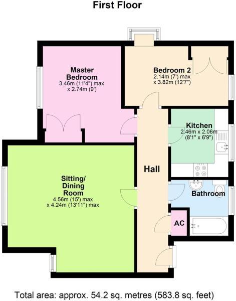 Flat 4, The Strettons - Floorplan.JPG