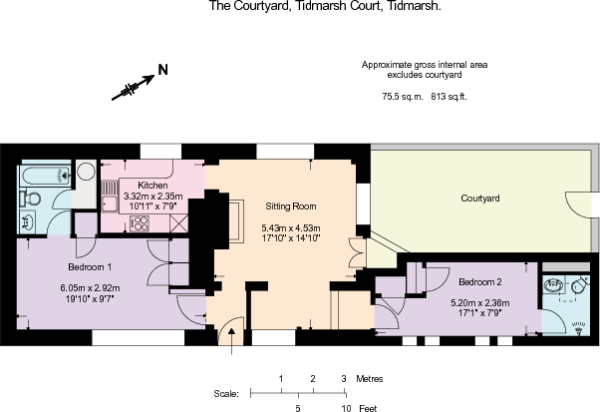 The Courtyard, Tidmarsh - Floorplan.pdf