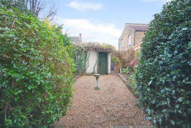 South facing rear garden