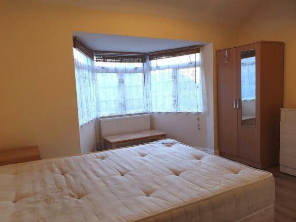 Reception room into bay window