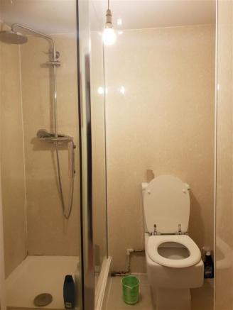 Shower room combined W.C