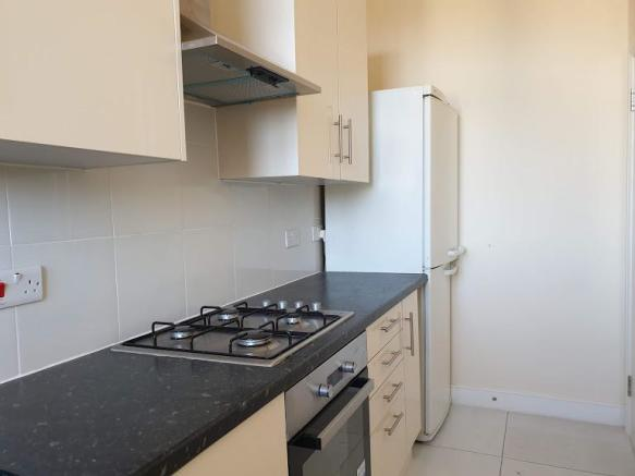 Separate modern fitted kitchen