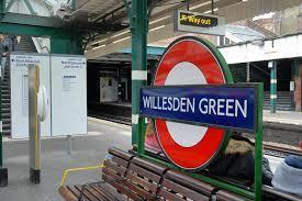 By Willesden Green tube