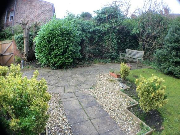Communal garden a...