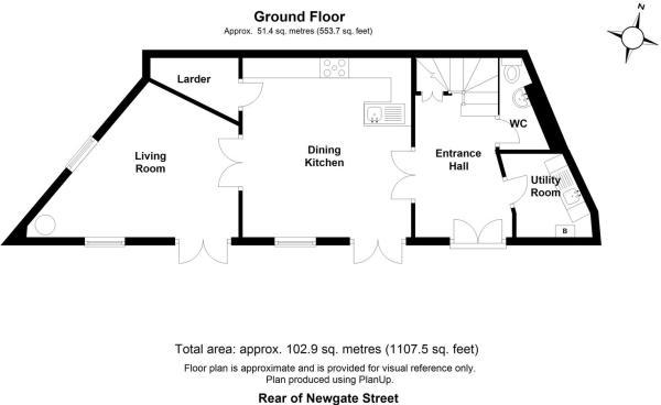 Rear of Newgate Street - Floor 0.JPG