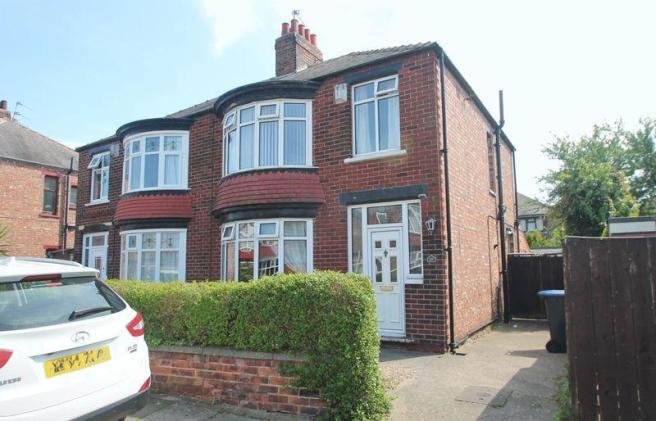 3 Bedroom Semi Detached House For Sale In Abdale Avenue Linthorpe TS5