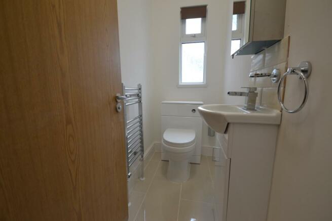 First floor toilet