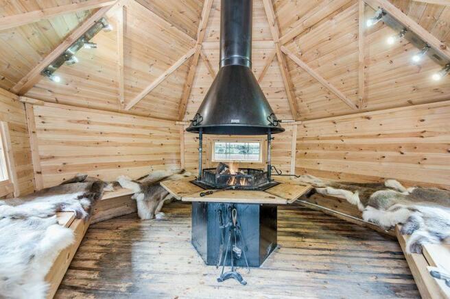Inside BBQ Hut