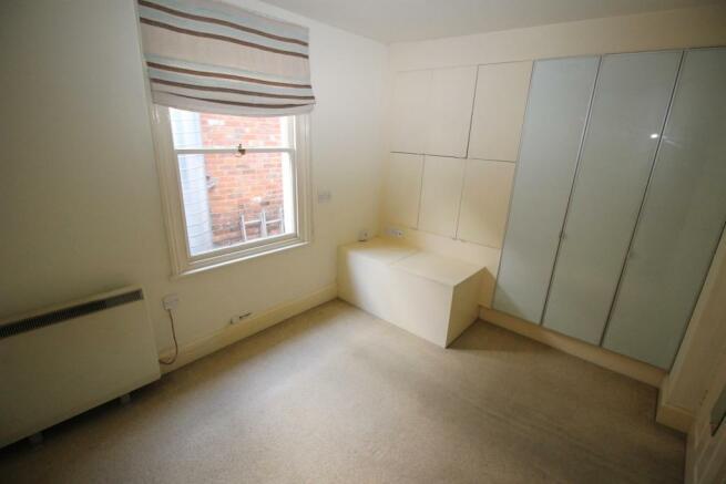 Bedroom with built-in storage