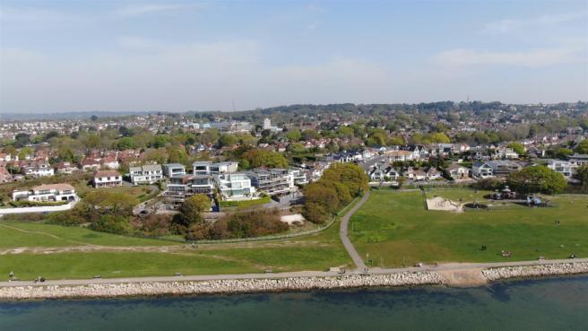 Aerial location shot