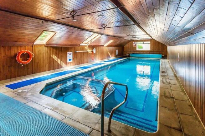 Swimming pool proper