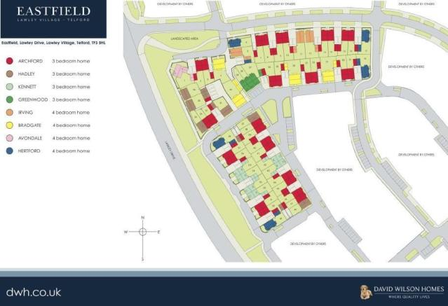 Site Plan - Eastfiel