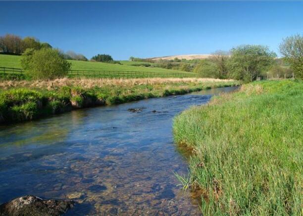Fishing River Barle