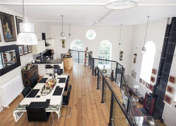 Galleried Kitchen