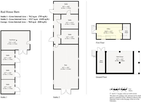 Floorplans - Stables