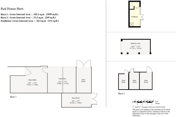 Floorplans - Barns