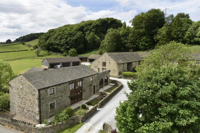 Charnock Bates Estate Agents. Blantyres Barn, Hill