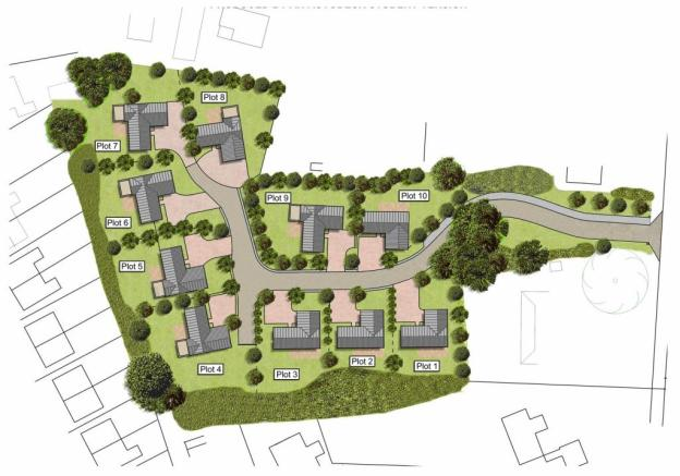 charnock bates estate agent , plots 4,5,6 and 7 wi