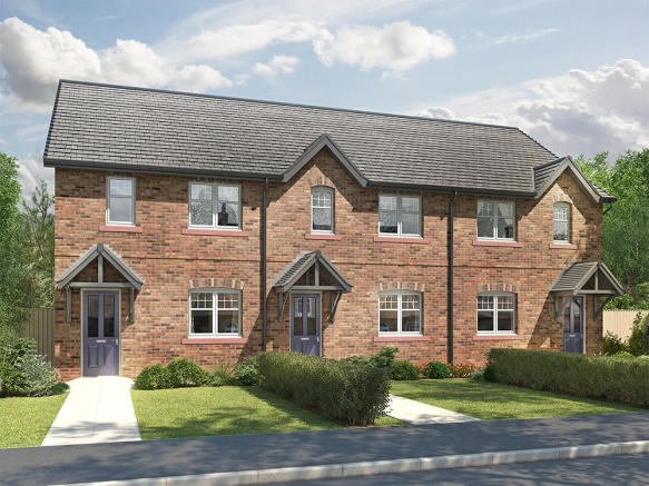 External CGI of 3-Bed Fenton