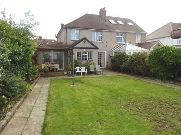 Rear Garden House