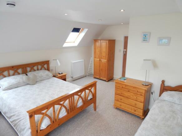 BEDROOM SEVEN (TREBLE - SHOWER AND WC EN-SUITE)