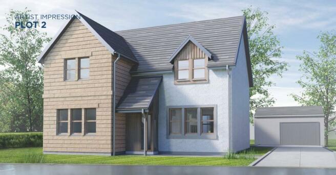 CGI Of House Design