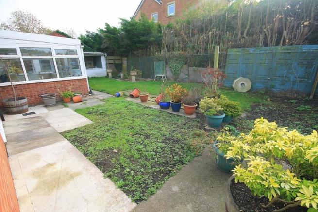 Outside - Gardens, ample parking, double detached