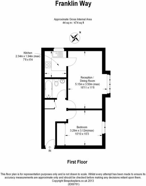 Franklin Way Floor Plan