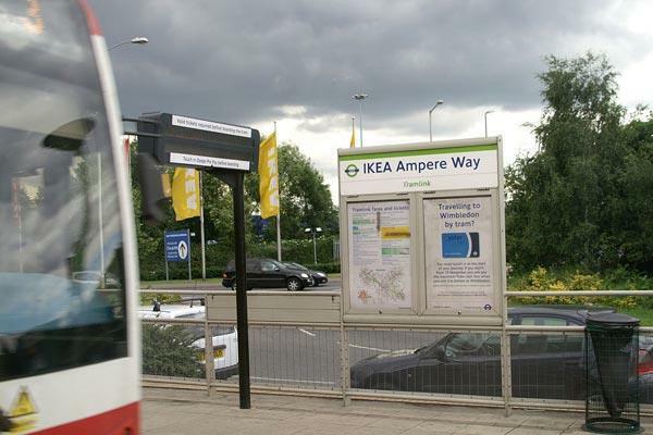 Ampere Way Tram Stop