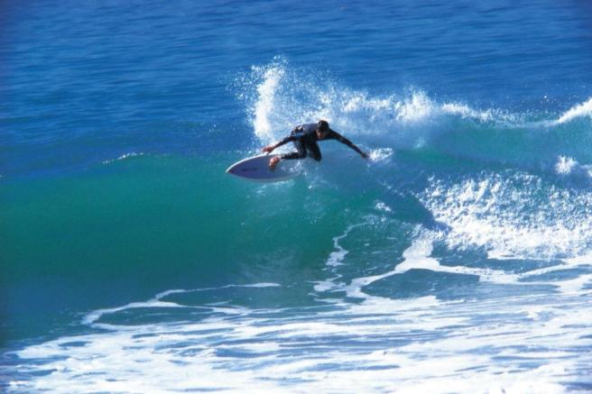 Surfing At Newquay