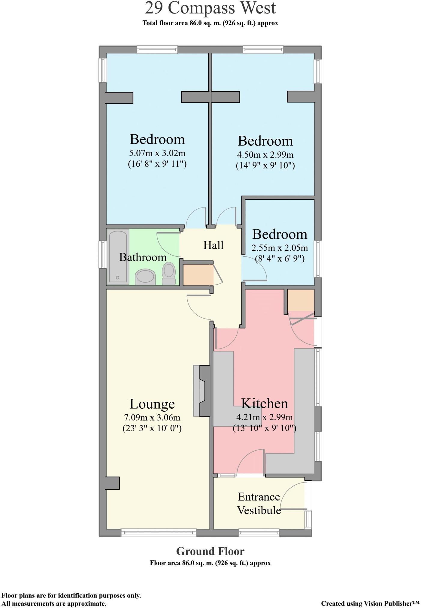 3 bedroom bungalow for sale in Compass West, Tregadillett
