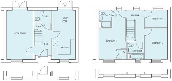 The Acacia Floorplans