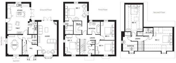 The Marlborough Floorplans
