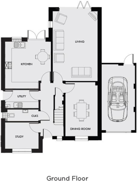 Alcombe ground floor