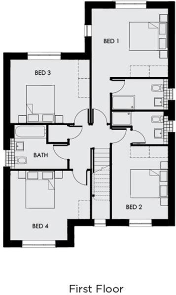 Alcombe first floor