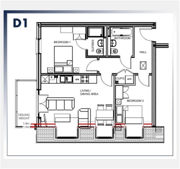 Floorplan Plot 17